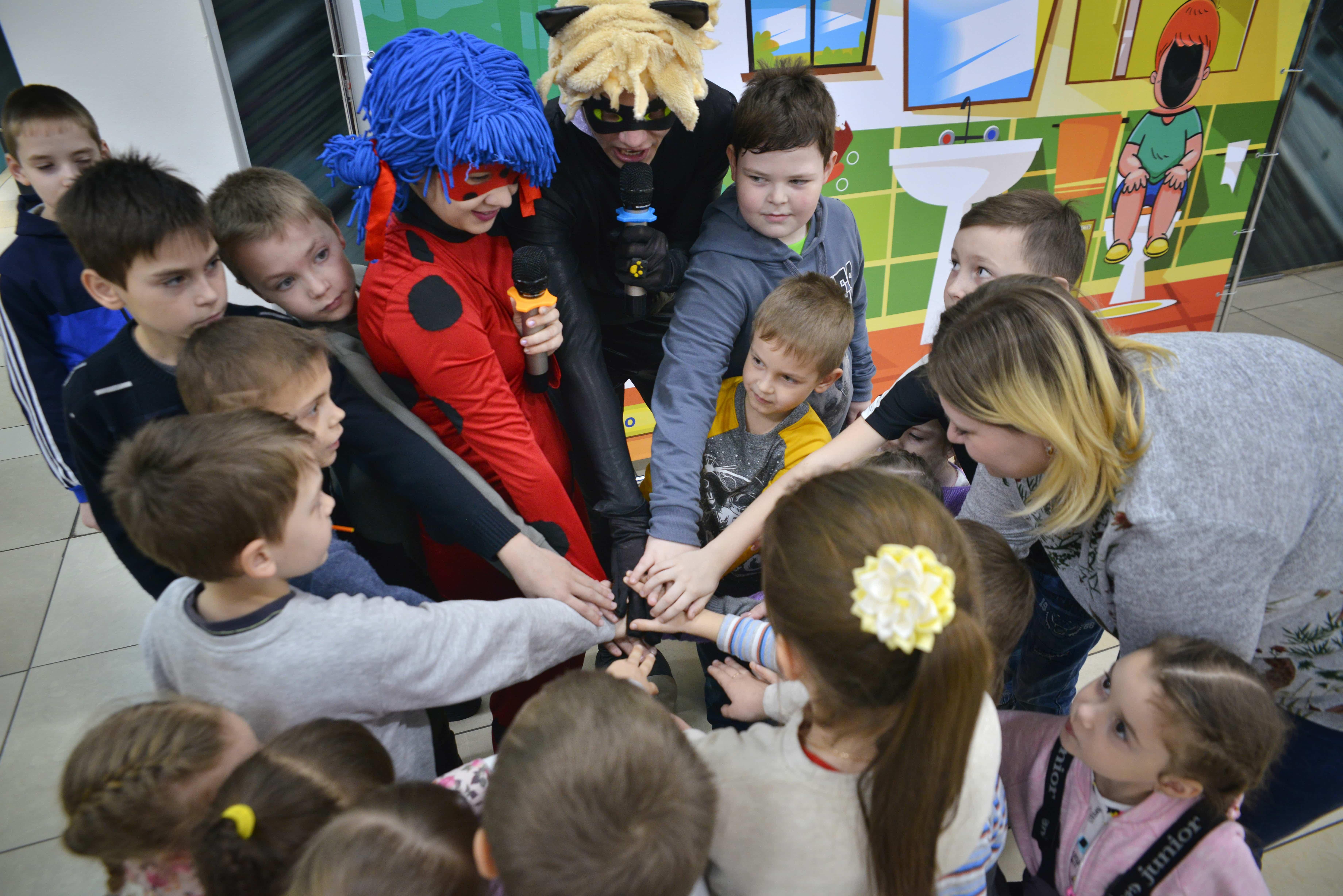 Веселое событие для детей
