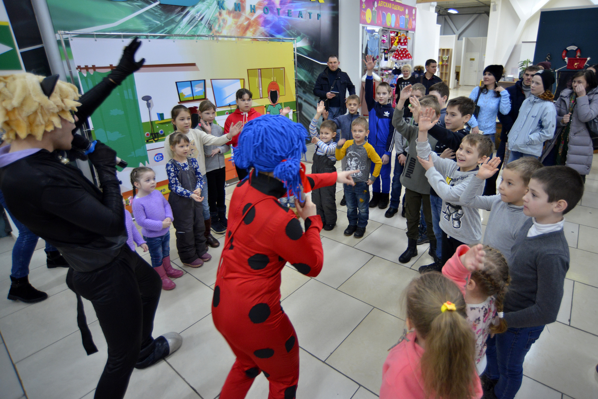 Детский праздник в ТЦ Ритейл Парк
